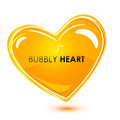 Free Bubbly Heart Stock Images - 17557324