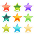 Free Colorful Stars Royalty Free Stock Photos - 17557738