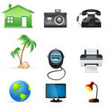 Free Communication  Icons Stock Photo - 17557760