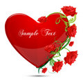 Free Abstract Valentine Card Royalty Free Stock Images - 17558029