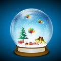 Free Merry Christmas Card Stock Photos - 17558043