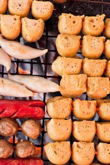 Free Hot Dog Variety. Stock Photo - 17550170
