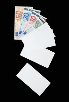 Free Euro Falling Royalty Free Stock Photos - 17550438