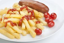 Free Fried Potato Royalty Free Stock Image - 17550616