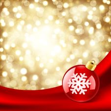 Free Christmas Shiny Ball Stock Photos - 17550713