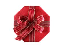 Free Single Red Present Royalty Free Stock Images - 17550949