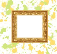 Free Golden Vintage Frame Stock Photos - 17551703