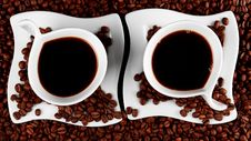 Coffee For Two Royalty Free Stock Images