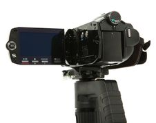 HD Camcorder Side View Stock Photos