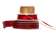 Three Different Ribbons Stock Image