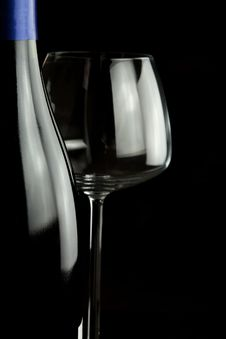 Free Wine And Glass Royalty Free Stock Image - 17552426