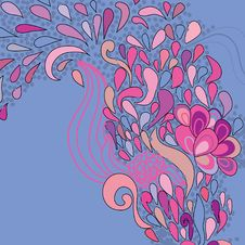 Free Floral Pattern Royalty Free Stock Photos - 17553528