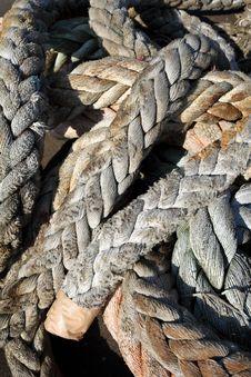 Thck Rope Stock Image