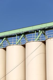 Silo Royalty Free Stock Photography