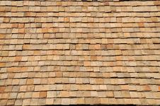 Free Earthenware Tile Roof Texture Stock Image - 17554371