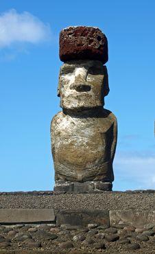 Free Moai On Easter Island Stock Image - 17554631