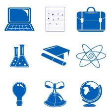 Free Study Icons Stock Image - 17554941