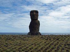 Free Moai On Easter Island Stock Image - 17554991