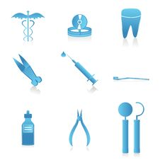 Free Medical Background Royalty Free Stock Image - 17555096
