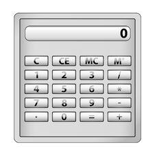 Free Calculator Stock Image - 17555111