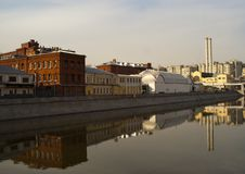 Free View Of The Moscow River Stock Photo - 17555160