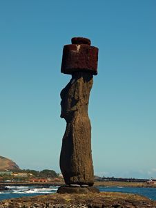 Free Moai On Easter Island Royalty Free Stock Photo - 17555405