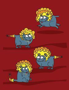 Free Cat Lion Stock Photo - 17556250