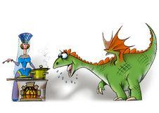 Free Hungry_dragon Stock Image - 17556571
