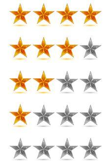 Free Abstract Stars Royalty Free Stock Photo - 17557175