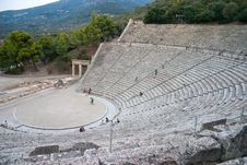 Free Greek Antique Theater Stock Photography - 17557202