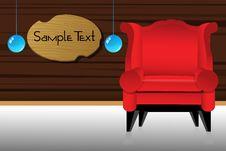 Free Sofa Royalty Free Stock Image - 17557456