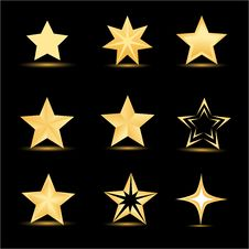 Free Different Stars Royalty Free Stock Photos - 17557708