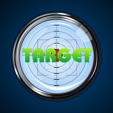 Free Target Board Stock Images - 17557774