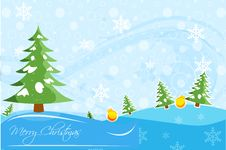 Free Abstract Christmas Card With Xmas Stock Image - 17557831