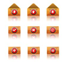 Free Communication Icons Stock Photos - 17558003