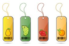 Free Fruit Tags Stock Photo - 17558260