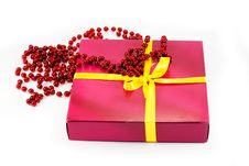 Free Gift And Beads Royalty Free Stock Images - 17559109