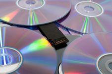 Free Disks Royalty Free Stock Photo - 17559315