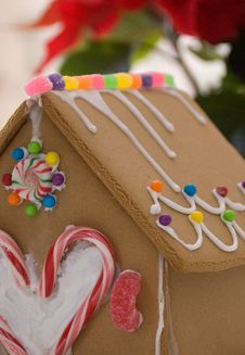 Free Gingerbread House Stock Photo - 17559330