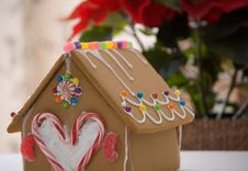 Free Gingerbread House Royalty Free Stock Photos - 17559338