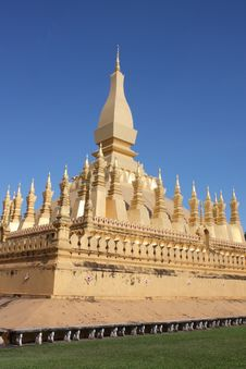 Free Pha That Luang Vientiane - Laos Stock Image - 17559371