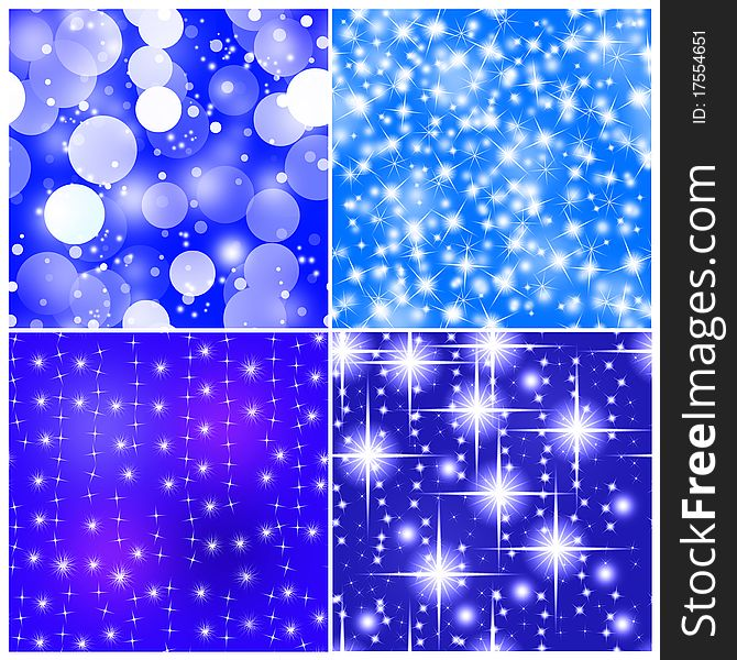 Four Tile Seamless Abstract Christmas Background Free Stock Images Photos 17554651 Stockfreeimages