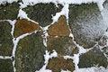 Free Snow In The Rocks Stock Photos - 17562313