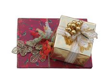 Free Christmas Presents Royalty Free Stock Photography - 17561067