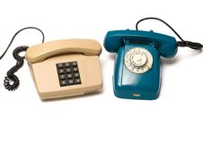 Free Telephones. Royalty Free Stock Image - 17561116
