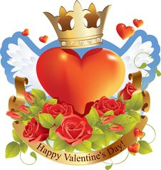 Free Red Heart Valentines Day Stock Images - 17563184