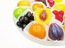 Free Marmalade Gelatin Fruits Royalty Free Stock Photography - 17563217