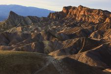 Free Zabriskie Point Royalty Free Stock Image - 17563786