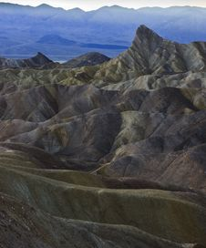 Free Zabriskie Point Stock Photography - 17563792