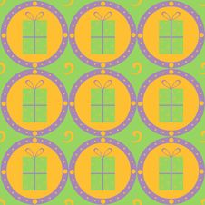 Free Cute Gift Pattern Stock Photography - 17564392